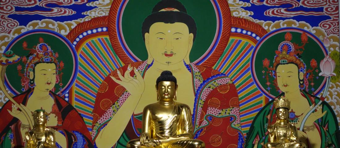 Shim Gwang Sa Altar
