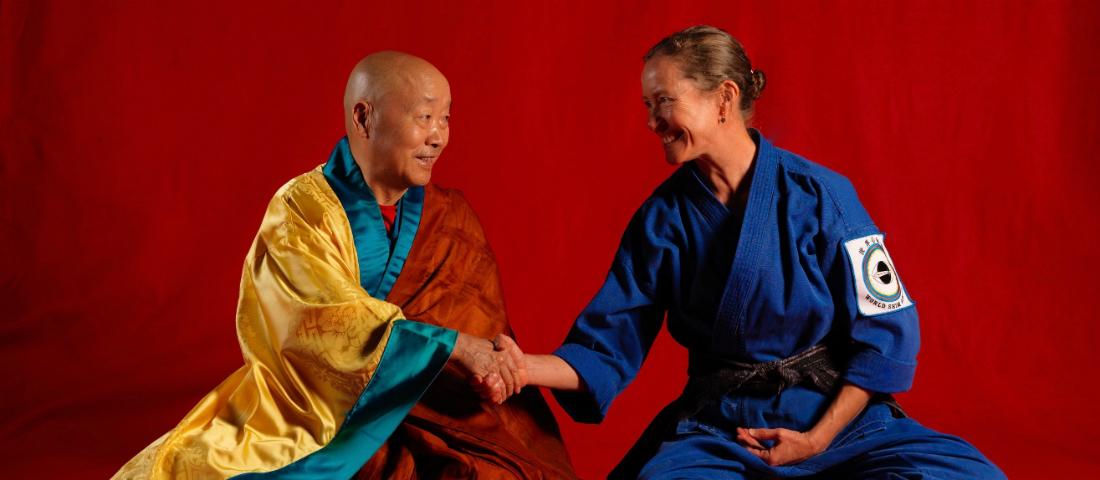 Sa Bu Nim and Chong Kwan Jang Nim